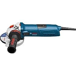 Bosch Professional Meuleuse Angulaire Filaire GWS 13-125 CIE (1300 W, Ø de Meule 125 mm, Coffret)