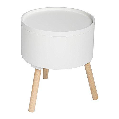 2-in-1-Kaffetisch-mit-integrierter-Aufbewahrungskiste-skandinavischer-Stil-Farbe-WEI