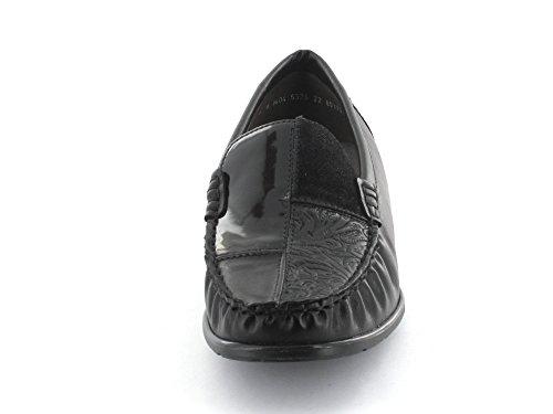 Granit-Schuh GmbH22-60170-01 - Mocassini Donna Nero