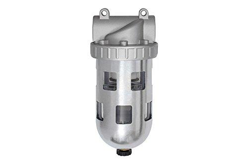 Filter »Standard« G 1/4 mit Polycarbonatbehälter und Schutzkorb | manuelles Ablassventil RI-640.116S -