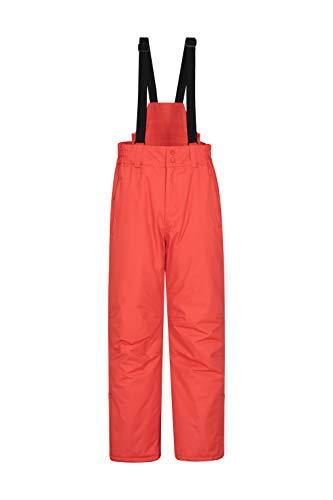 Mountain Warehouse Pantaloni Corti da Sci Dusk Uomo Impermeabili isolati Tasche con Cerniere Salopette Calda Adatti per Snowboard e Vacanze Invernali