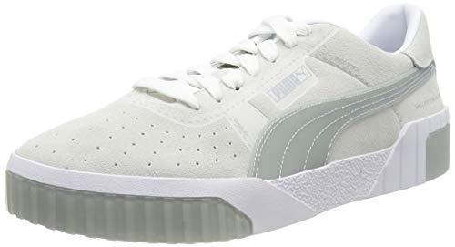 PUMA Damen Cali Patternmaster WN's Sneaker , Weiß (Puma White-Quarry 01) , -