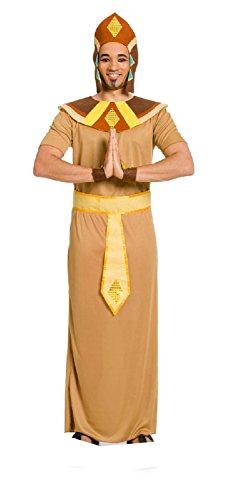 m Ägypter für Erwachsene, 5-teilig, M/L, hellbraun (Pharao Hut)