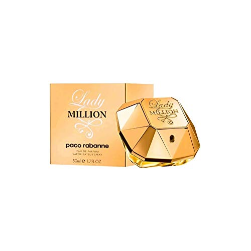 Paco Rabanne Paco rabanne lady million femme woman eau de parfum vaporisateur spray 1er pack 1 x 50 ml