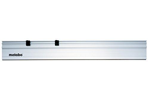 Metabo 631213000 Führungsschiene 1500 MM | eloxiertes Aluminium-Profil | Anti-Rutschbelag für sichere Auflage und zum Schutz der Werkstücke gegen Kratzer | geeignet für: Metabo Sägen