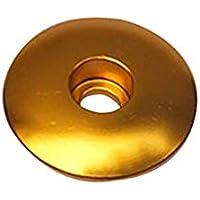 Horquilla Delantera Gorra, Protección Antipolvo Alto Intensity Colorido Resistente Al Desgaste Bowl con Forma Bicicleta Casco Piezas de Bici Dirección Tubo Funda Ultralight Fácil Instalación - Oro