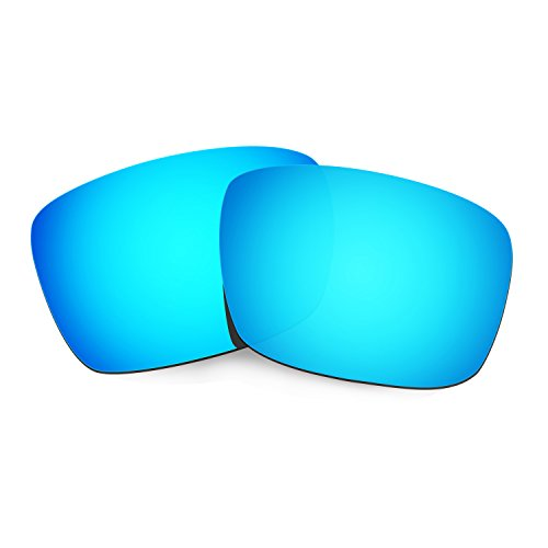 HKUCO Plus Mens Replacement Lenses For Oakley Fuel Cell Sunglasses Blue Polarized