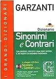 Image de Dizionario sinonimi e contrari. Con CD-ROM