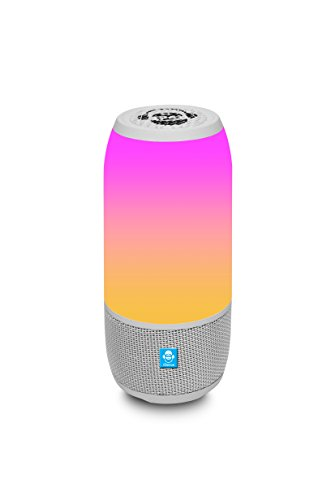 iDance BM3LPK - Altavoz Portatil Bluetooth con Iluminacion LED, Tarjeta SD y...