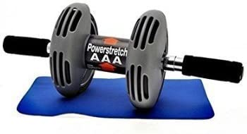 Powerstretch AB Wheel Roller Exercise Fitness Slim Body Roller Power Stretch Siddhi Collection