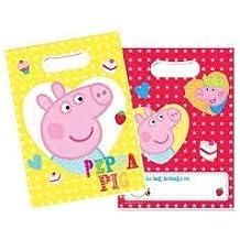 baa1eca0b Vasara Bolsas de Cumpleaã±Os Peppa Pig (Pack ...