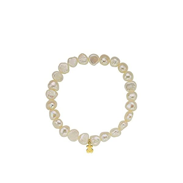 7dbaa1c0d9fe Complementos Pulsera TOUS Sweet Dolls en oro amarillo de 18kt y perlas  barrocas de 0