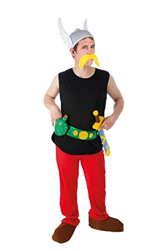 Chaks-Kostüm-Kostüm Asterix 9-teilig.