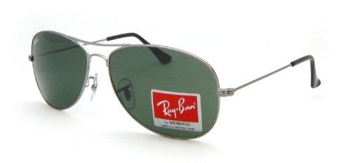 Ray-Ban RB3362 004, Grau/ Schwarz, Gr. 59