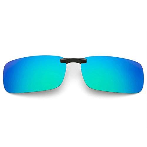 Taiyangcheng Polarisierte Clip auf Sonnenbrille männer Fahren Sonnenbrille Frauen nachtsicht objektiv Anti-uva uvb Brille flip up Brillen,a6