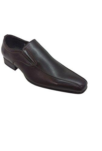 Chaussure style mocassin pour homme de cérémonie Marron