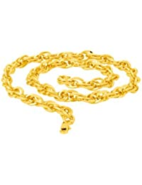 Dare Yellow Gold Rope Chain For Men From Dare By
