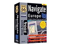 Route 66 Navigate Europe 2004 Inc Sw/Gps/Car Holder