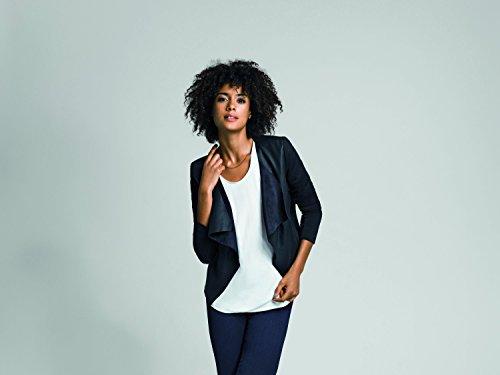 ONLY Damen Blazer Onlsound Pu Jacket Otw Schwarz (Black)
