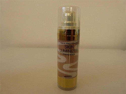 3 x Max Factor Skin Luminizer Foundation 30ml New & Sealed - 80 Bronze (Luminizer Bronze)