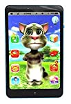 Siddhi Vinayak™ Talking Tom Interactive Learning Tablet Phone ,Mobile Toy for Kids with Intelligent Multiple Functions
