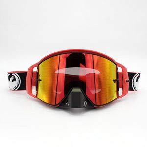 Drachen NFX2 MX Rot, Blau, Schwarz Motocross Goggles