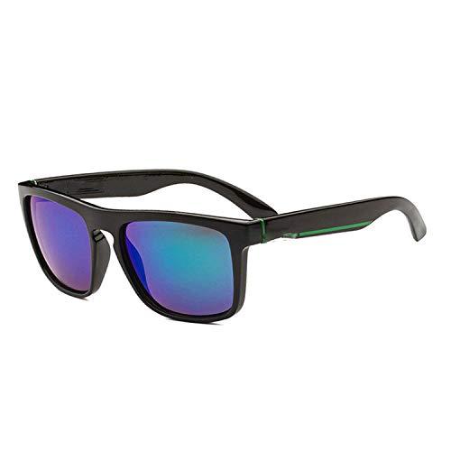 WERERT Sportbrille Sonnenbrillen Square Sunglasses Men's Driving Male Sunglasses Retro