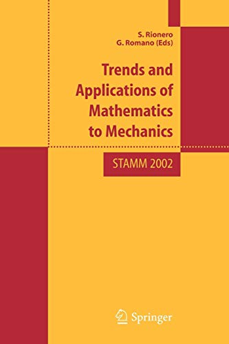 Trends and Applications of Mathematics to Mechanics: STAMM 2002