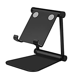 ANGGO Phone Tablet Stand with Adjustable Mount and Base, Compatible with Devices from 4