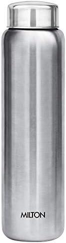 Milton Aqua 1000 Stainless Steel Water Bottle, 950 ml, Silver