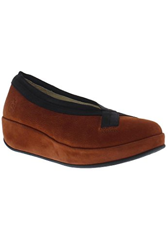 FLY London Bobi, Ballerines femme wine/brick