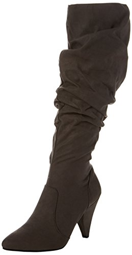 New Look Corner Pull On, Botas Altas para Mujer, Gris (Mid Grey 4), 38 EU