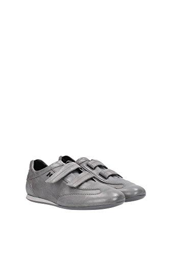 HXM0520N3708A1B401 Hogan Sneakers Uomo Pelle Grigio Grigio