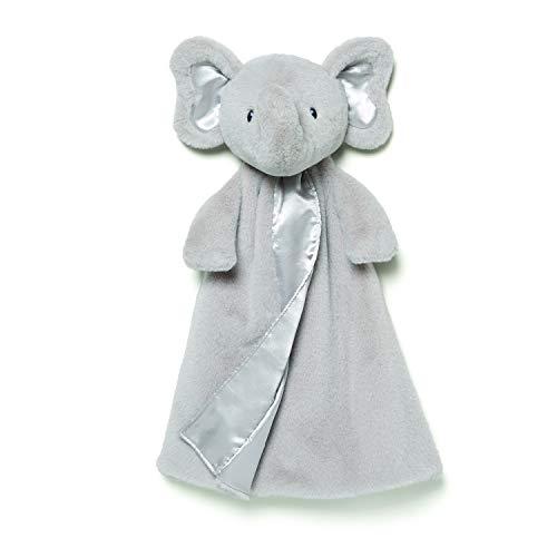 Gund Baby Bubbles Elephant Huggybuddy Blanket, Gray, 17 by GUND