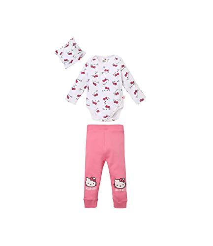 0a7e908c4989 Hello Kitty Body pour bébé avec leggings et bonnet blanc (3 mois)