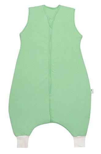 Produktbild Schlummersack Schlafsack mit Füßen Vierjahreszeiten in 2.5 Tog - Mintgrün - 5-6 Jahre / 120 cm