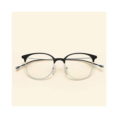 UICICI Unisex Retro Brillengestell, Ultraleicht, Full Frame (Farbe : Blau)