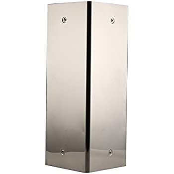 MultiWare Stainless Steel Bathroom Corner Cabinet Wall Mounted Mirror Storage Unit Door Cupboard