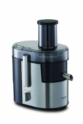 Panasonic mj-dj01sxe centrifuga con beccuccio ruotabile, vano ampio di alimentazione, 2 velocità, acciaio