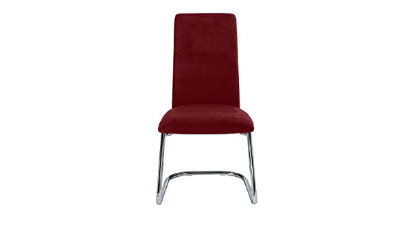 Stuhl Rot Mingo Freischwinger Mikrofaser Kawola Konferenzstuhl vwONnym80