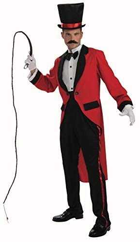Circus Ring Master Tailcoat Costume Adult Standard (Ring Master Adult Kostüm)