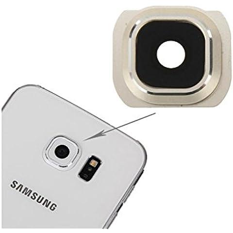 borde [G920] samsung galaxy s6 lente de la cámara, Fone-Stuff® - sustitución de piezas de repuesto marco de protección para refurbing en oro