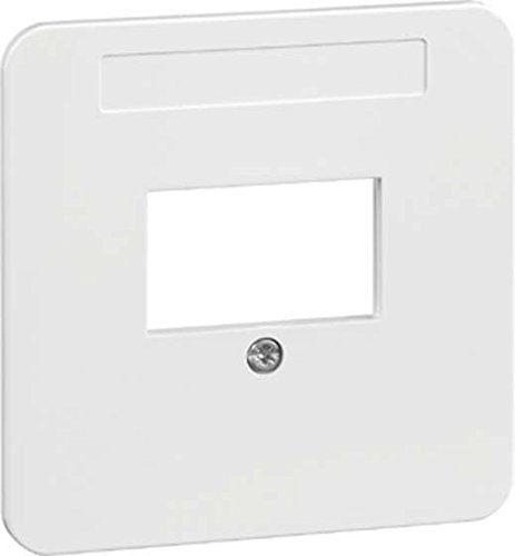 PEHA 00143411 Standart Zentralplatte für Telefon-Anschlussdose