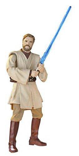 Hasbro Star Wars Revenge of the Sith No.01 Collection Obi-Wan Kenobi Slashing Attack
