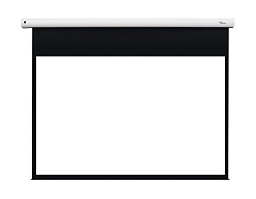 Best Price Optoma DE-1123EGA 123-Inch Motorised Projection Screen – Matte White on Amazon