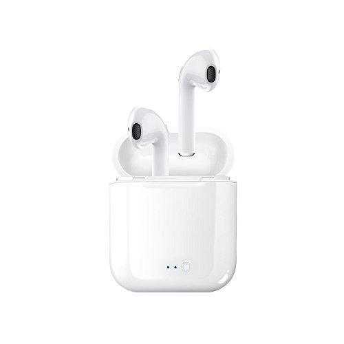 WolfArya Bluetooth headphone, Mini Wireless Headset In-Ear Earphone Earpiece for Apple airpods, iphone X, 8, 8 plus, 7, 7 plus, 6s, Samsung Galaxy S7, S8, IOS, Android Smart Phones