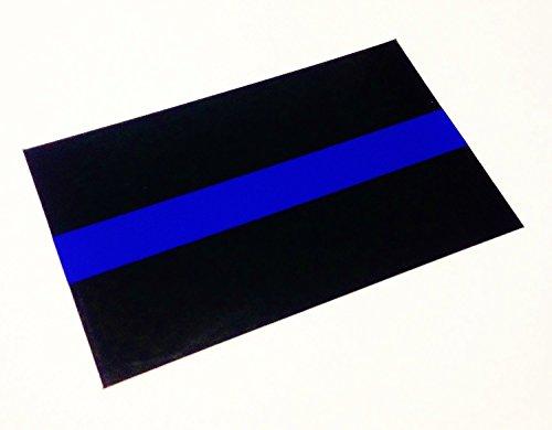 Empire Tactical USA Delgada línea azul 3m oficial de matrícula reflectante calcomanía...
