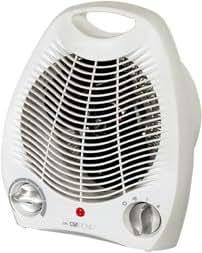 Clatronic Hl 2994 Chauffage Soufflant Thermostat Variable avec Position Hors Gel 2 Allures de Chauffe (1000 / 2100 Watts) Ventilation Froide Indicateur Lumineux