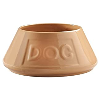 Mason Cash Cane Non Tip Lettered Dog Bowl 21cm 7