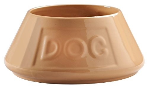 Mason Cash Cane Non Tip Lettered Dog Bowl 21cm 1